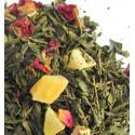 Thé en vrac Papaye, Kiwi, Boutons de rose -Thé vert TROUBADOUR - Compagnie Anglaise des Thés