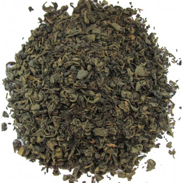Thé de Chine roulé - Thé vert GUNPOWDER BIO- Compagnie Anglaise des Thés