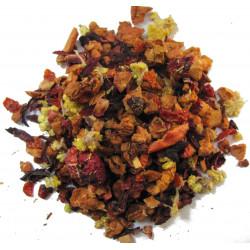 Infusion Framboise, Fruits des bois, Caramel - Infusion CRÊPE FLAMBÉE - Compagnie Anglaise des Thés