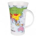 Taza Dunoon Mapa del Mundo