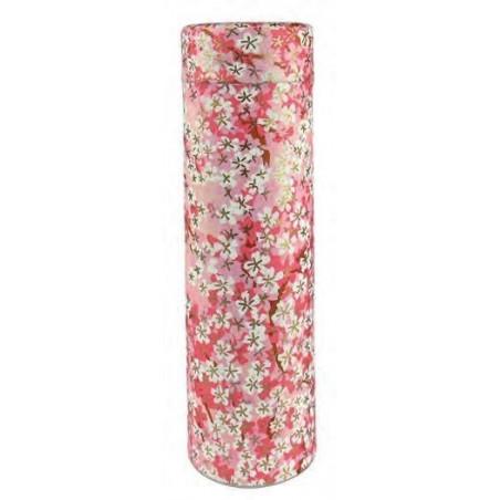 Boîte Japonaise Fleurie Rose
