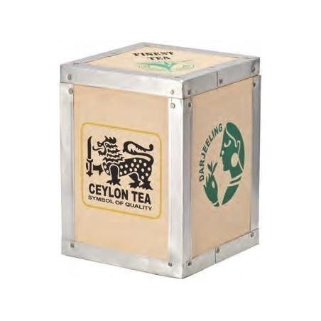 Boîte à thé en Bois - Darjeeling