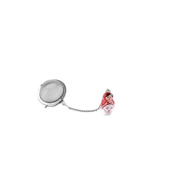 Contrepoids Poupée Russe rouge 5cm