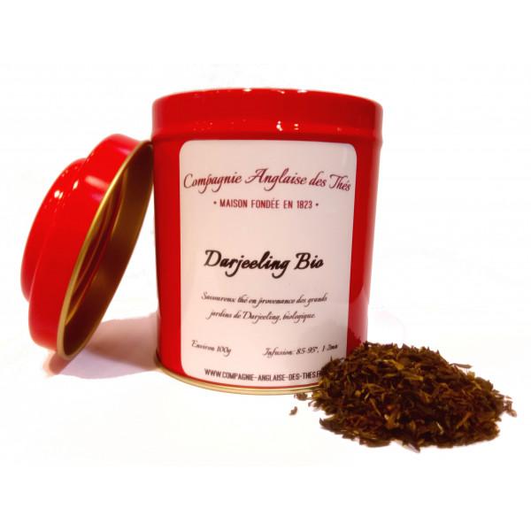 Boîte de thé noir DARJEELING BIO