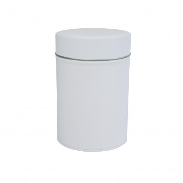 boite cylindrique blanche