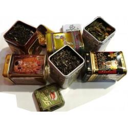 Assortiment 6 Thés Noirs Parfumés - Idée Cadeau!