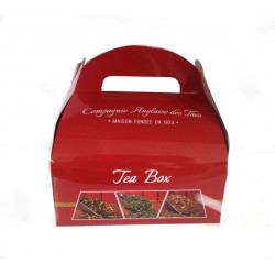 Surtido de 4 cajas de Tés negros Perfumados - ¡Idea para regalo!