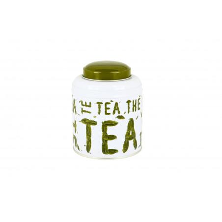Boîte Tea cylindrique