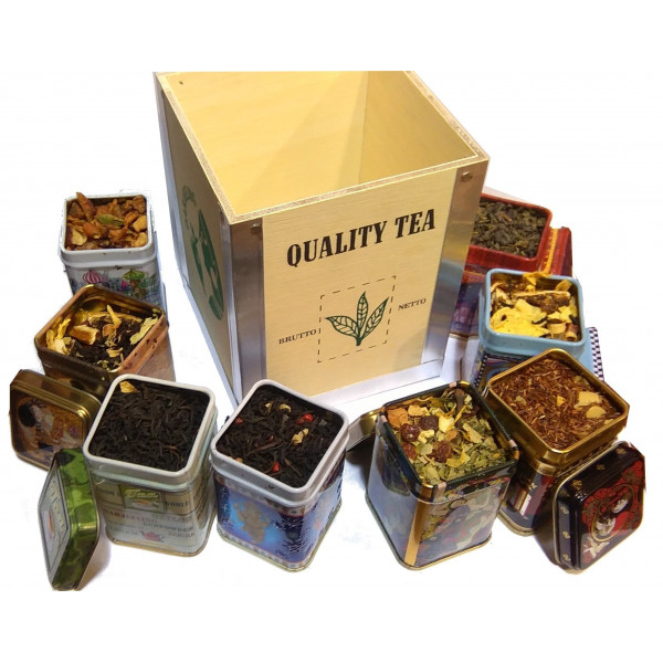 Coffret Cadeau TEA SPIRIT BIO - Compagnie Anglaise des Thés