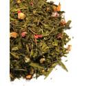 Thé vert Ananas, Fraise, Rose, Mangue, Fruit de la passion - Thé vert FARNIENTE - Compagnie Anglaise des Thés