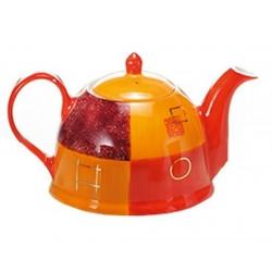 Théière Design Orange 1l