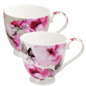 Mug Fleurs roses