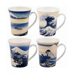 Coffret Mugs Fuji - Compagnie Anglaise des Thés