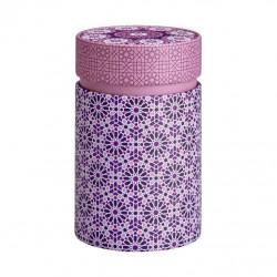 Boîte Cylindrique Andalouse rose - Compagnie Anglaise des Thés