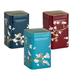 Boîte Cerisier Japonais Bleue