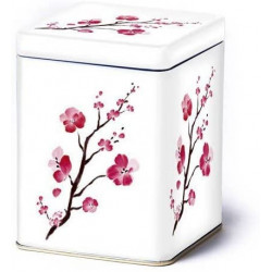 Caja Flores de Cerezo Blanca