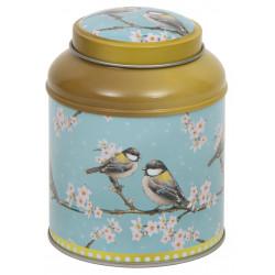 Boîte cylindrique Birds - Compagnie Anglaise des Thés