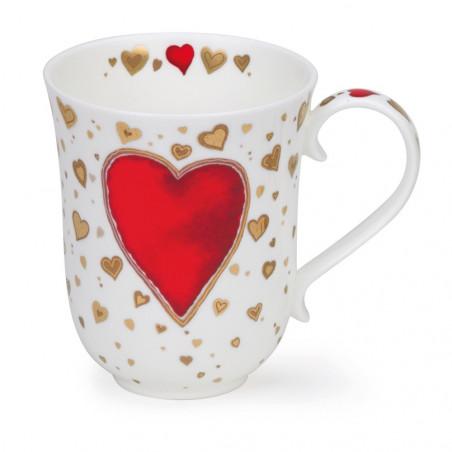 Mug Dunoon Coeur rouge