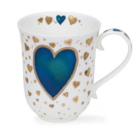 Mug Dunoon Coeur bleu