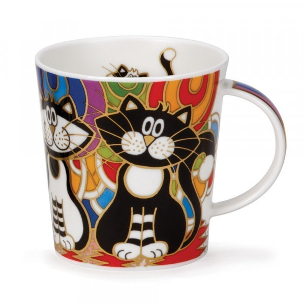 Mug Dunoon Chat couleurs - Compagnie Anglaise des Thés