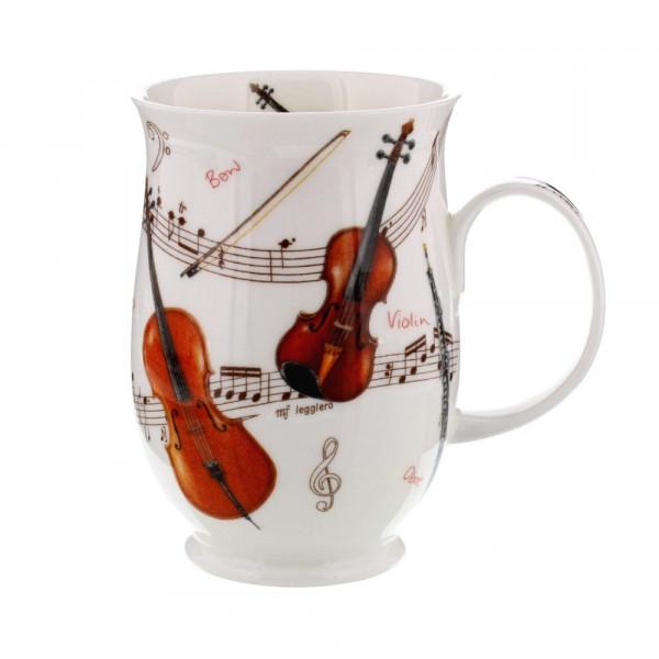 Mug Dunoon Violon - Compagnie Anglaise des Thés