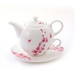 Théière Solitaire Orchidée - Compagnie Anglaise des Thés