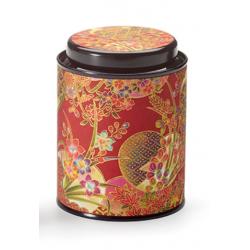 Boîte Japonaise rouge et dorée 80g - Compagnie Anglaise des Thés